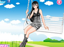 Swing Flying Girl Dress Up