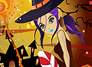 halloween night dressup