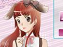 粉可爱兔兔美少女