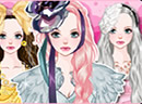 Pink Angel Girl Dress up