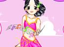 可爱天使少女歌星
