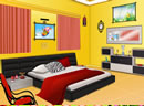 逃出漂亮的现代卧室
