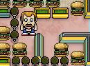 疯狂吃汉堡