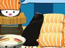 可爱宝宝做寿司