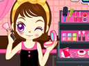 Judy's makeup test