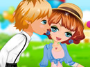 Miss Kiss Dress Up game