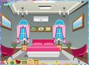布置粉色的卧室