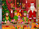 Santa Workshop Management Game