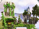 神秘的水晶城堡