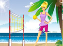 beach volley ball girl show