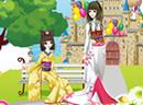 girls kimono show