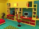 黄色儿童房间逃出