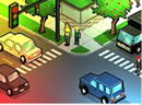 模拟交通岗