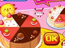 七彩水果蛋糕