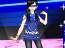 时尚性感舞台少女