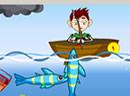 开心海上钓鱼