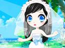 可爱萝莉婚纱小公主