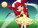 可爱芭蕾舞美少女