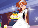Sweety Waitress Dressup
