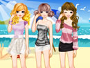Fashion Summer Girls Dress Up Gam