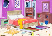 整理少女的凌乱卧室
