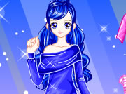 Blue Fashion Girl