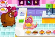 小恐龙经营甜品餐厅