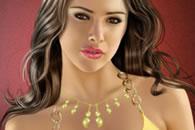 Alina Vacariu Celebrity Makeup