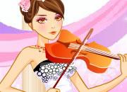 美女小提琴家