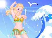 冲浪比基尔女孩