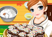 泰莎做杯子蛋糕