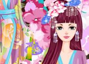 樱树艺妓的美丽