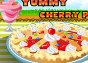 Yummy Cherry Pie Food