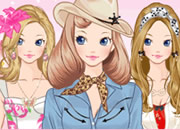 Fashion Barbie Dress Up