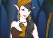 Wood elf dress up