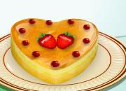 教你做心型果味蛋糕