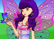 田野里的蝴蝶姑娘