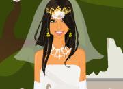 浪漫甜美婚礼新娘