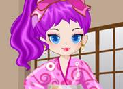 日本可爱古装公主
