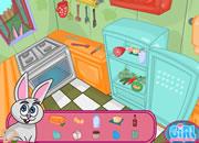 可爱兔兔蛋糕