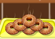 苹果沙司甜甜圈