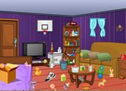 清理搞乱的房间