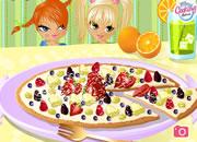 美味水果比萨