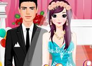 时尚婚礼新人