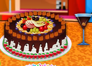 Cake Full of Fruits Decoration