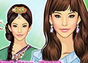 韩国时尚古风美女