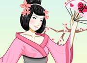 日本古装美女