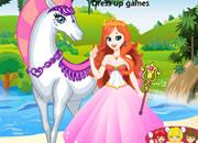 可爱白马公主