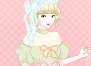 可爱洛丽塔新娘