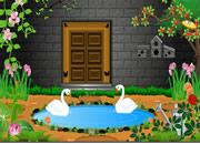 逃出喷泉花园